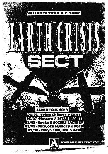 EARTH CRISIS / SECT Japan Tour