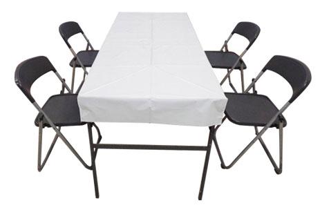 Sブロックテーブル4人席
