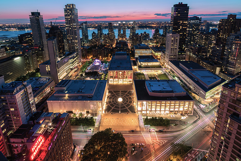 Lincoln Center Aerial