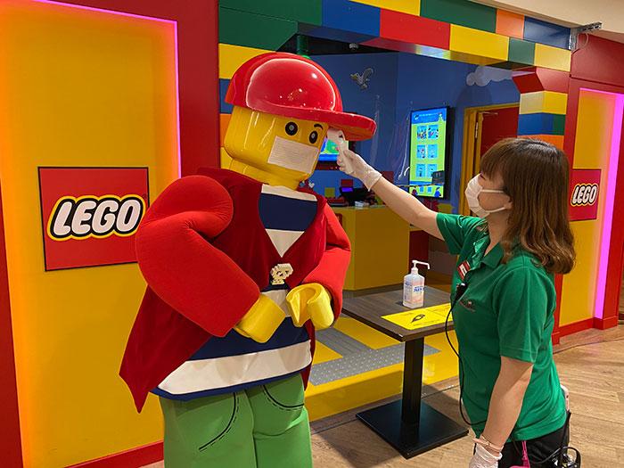 レゴ®感染予防及び拡散防止対策