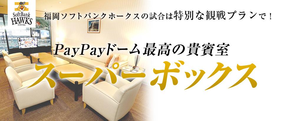 福岡ソフトバンクホークス オープン戦スーパーボックス 観戦プラン