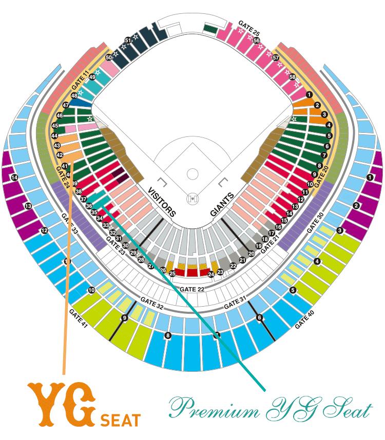 YGシート座席図